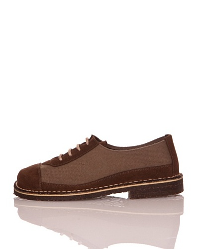 Za-patitos Zapatos Iowa Tabaco / Marrón