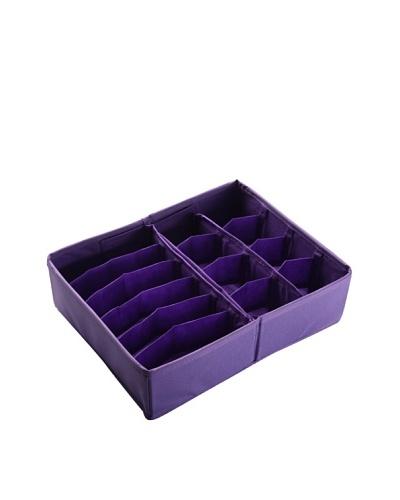 Zings Caja Organizadora Cajón Violeta L