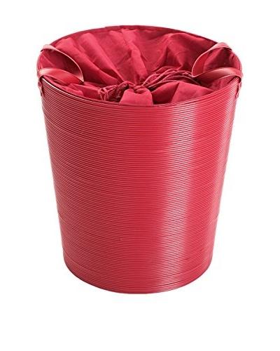 Zings Cesto De Ropa Con Asas Rojo