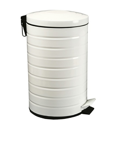 Zings Cubo Con Pedal Blanco 12 L