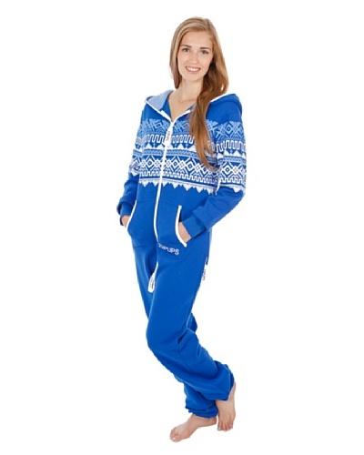 ZIPUPS Pijama-Mono Unisex Scandinavia Azul