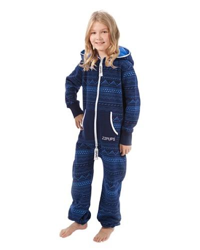 ZIPUPS Pijama-Mono Junior Maori Azul