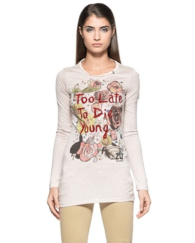 Zu Elements Camiseta Lemaire Rosa